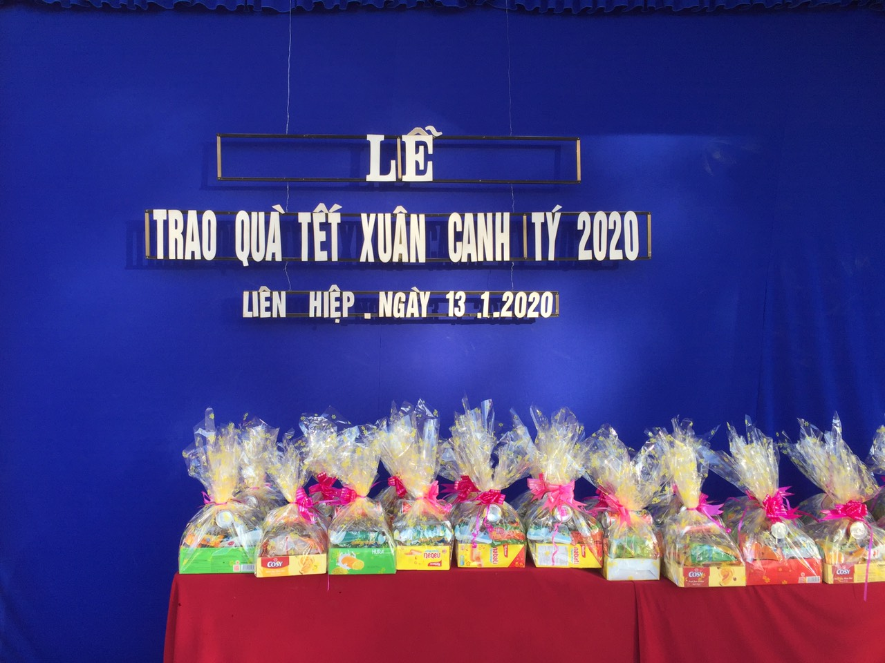 LỄ TRAO QUÀ TẾT XUÂN CANH TÝ 2020